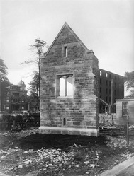 residential college construction, 1917